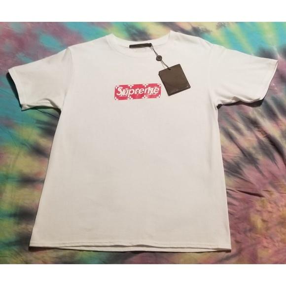1f6e64515c7e Supreme Shirts | Louis Vuitton Boxlogo Monogram Tshirt | Poshmark